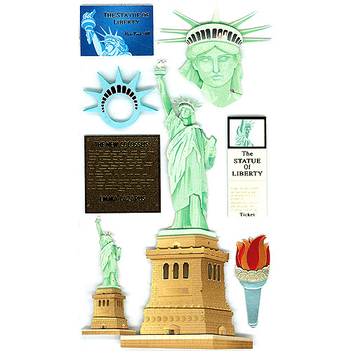 Jolee's Boutique Dimensional Stickers, Statue Of Liberty