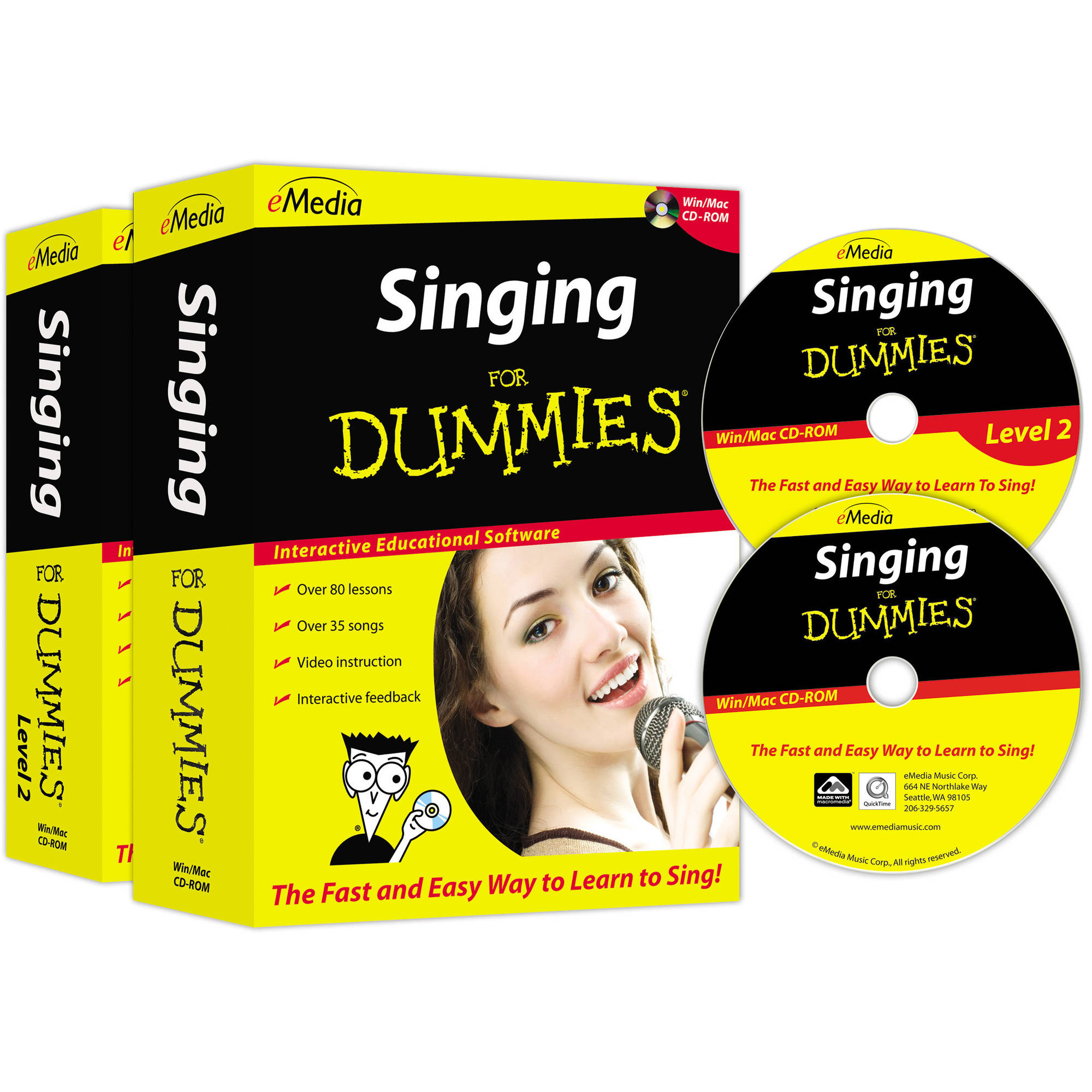 eMedia Singing For Dummies Deluxe by Emedia Music
