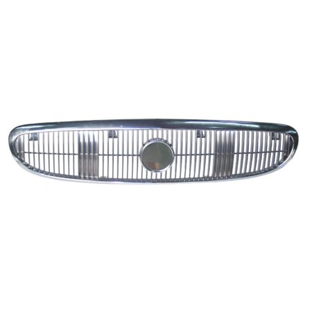 NEW FRONT GRILLE GLOSS BLACK FITS 2003-2005 BUICK CENTURY GM1200496 10334271