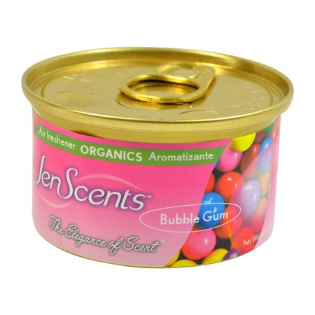 - Jen-Scents Air Freshener Can, Organic Car Air Freshener In a Can (Bubble Gum)