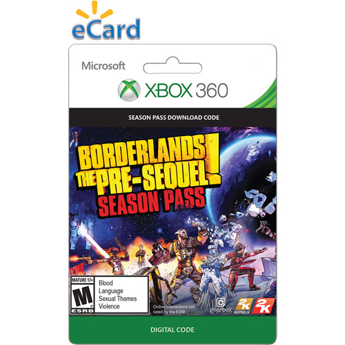 Xbox 360 Borderlands: The Pre-Sequel Season Pass 2014 $29.99 (Email Delivery)