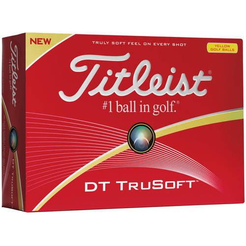 Titleist DT TruSoft Golf Balls - Prior Generation