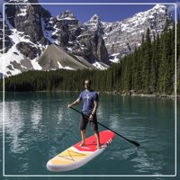 Zimtown 10.5' Inflatable Stand Up Paddle Board SUP