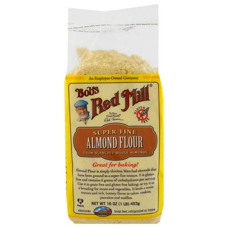 Bob's Red Mill, Super-Fine Almond Flour, Gluten-Free, 16 oz (pack of 2)