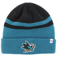 bb01e2c4fc4 Product Image San Jose Sharks  47 Cedarwood Cuffed Knit Hat - Teal Black -  OSFA