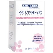 Nutramax Proviable-DC Capsules Dog & Cat Supplement, 80 Capsules