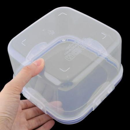 Plastic Square Food Peanut Nut Sugar Holder Storage Container Box Case 800ml - image 3 of 4