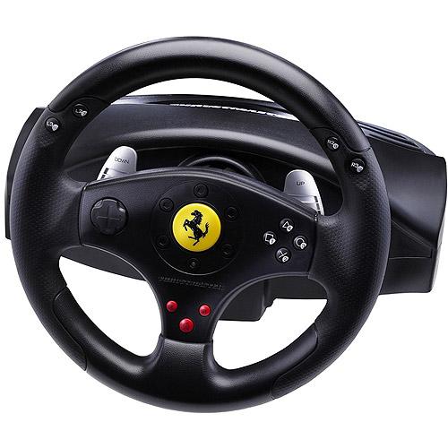 THRUSTMASTER 2960697 PlayStation(R)3/PC Ferrari(R) GT Experience Racing Wheel