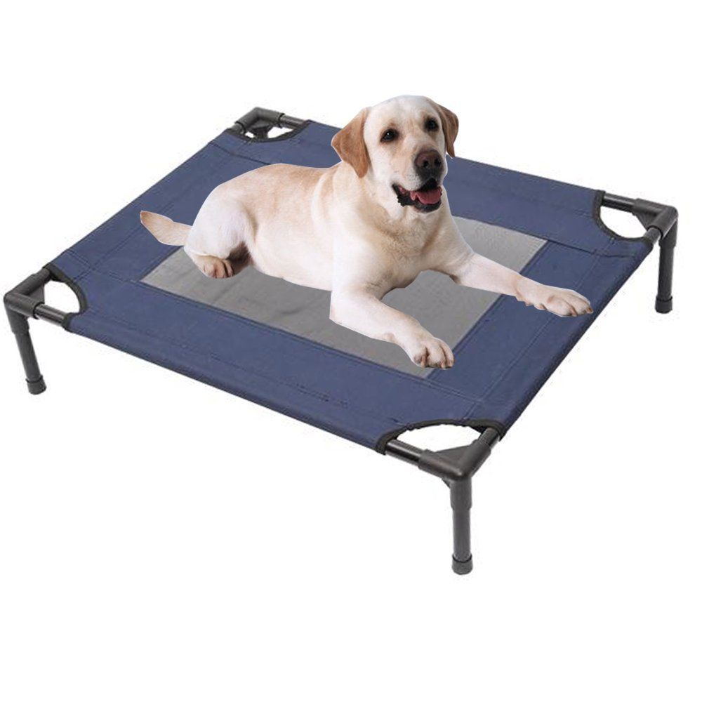 Tenive Indoor/Outdoor Portable Dog Cat Sleep Bed Elevated Camping Pet Cot