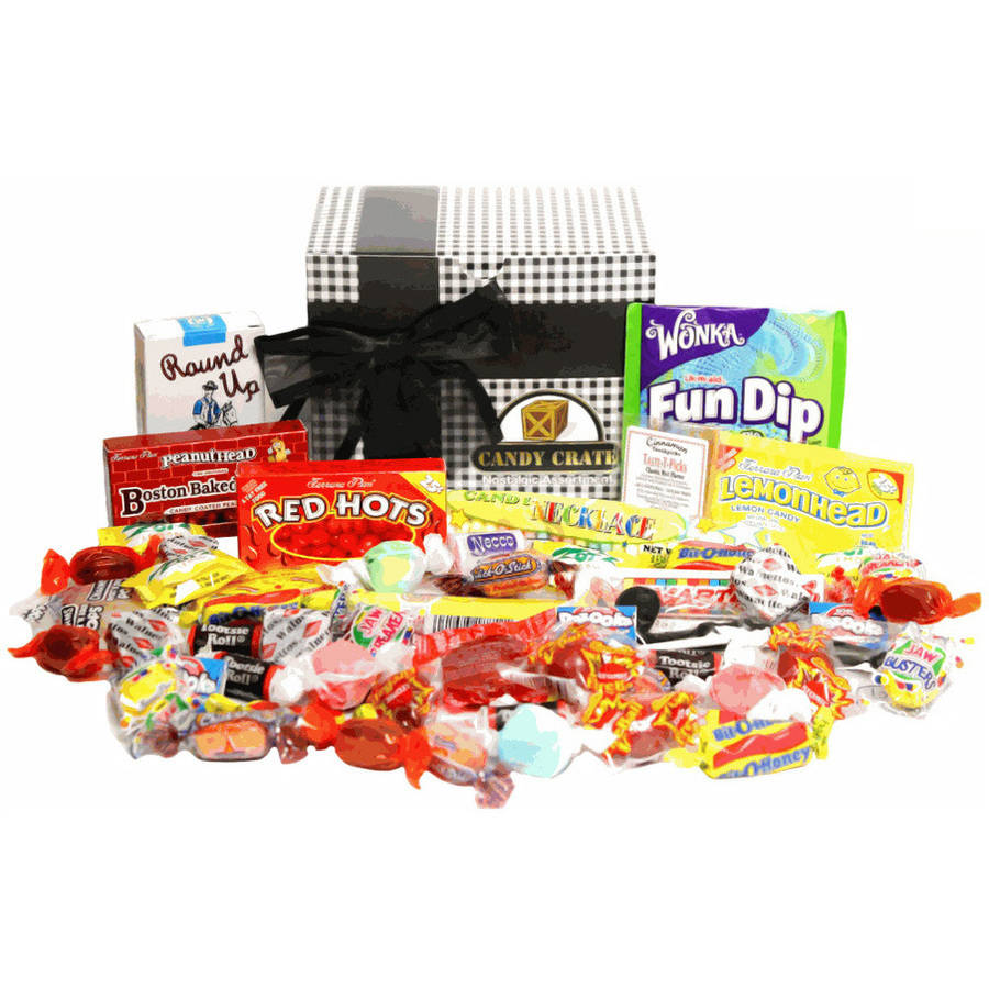 Candy Crate Classic Nostalgic Candy Gift Box by