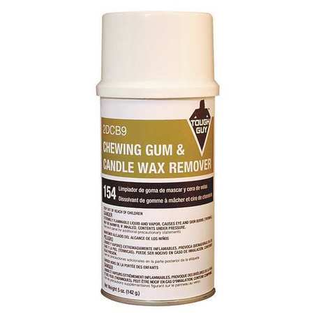 Tough Guy 0841249490 5 oz. Gum and Wax Remover Aerosol