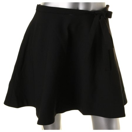 Elizabeth and James Womens Marina Viscose Tie Bow Flare Skirt