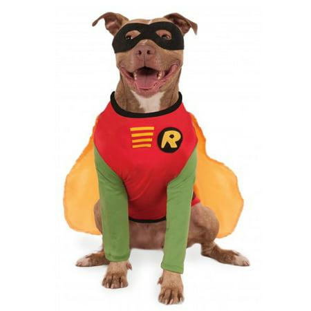 Pet Sidekick Costume Dc Robin The Boy Wonder Big Dog Costume - Buy Dog Costume