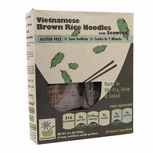 Star Anise Brown Rice Noodles With Seaweed, 8.6 Oz.