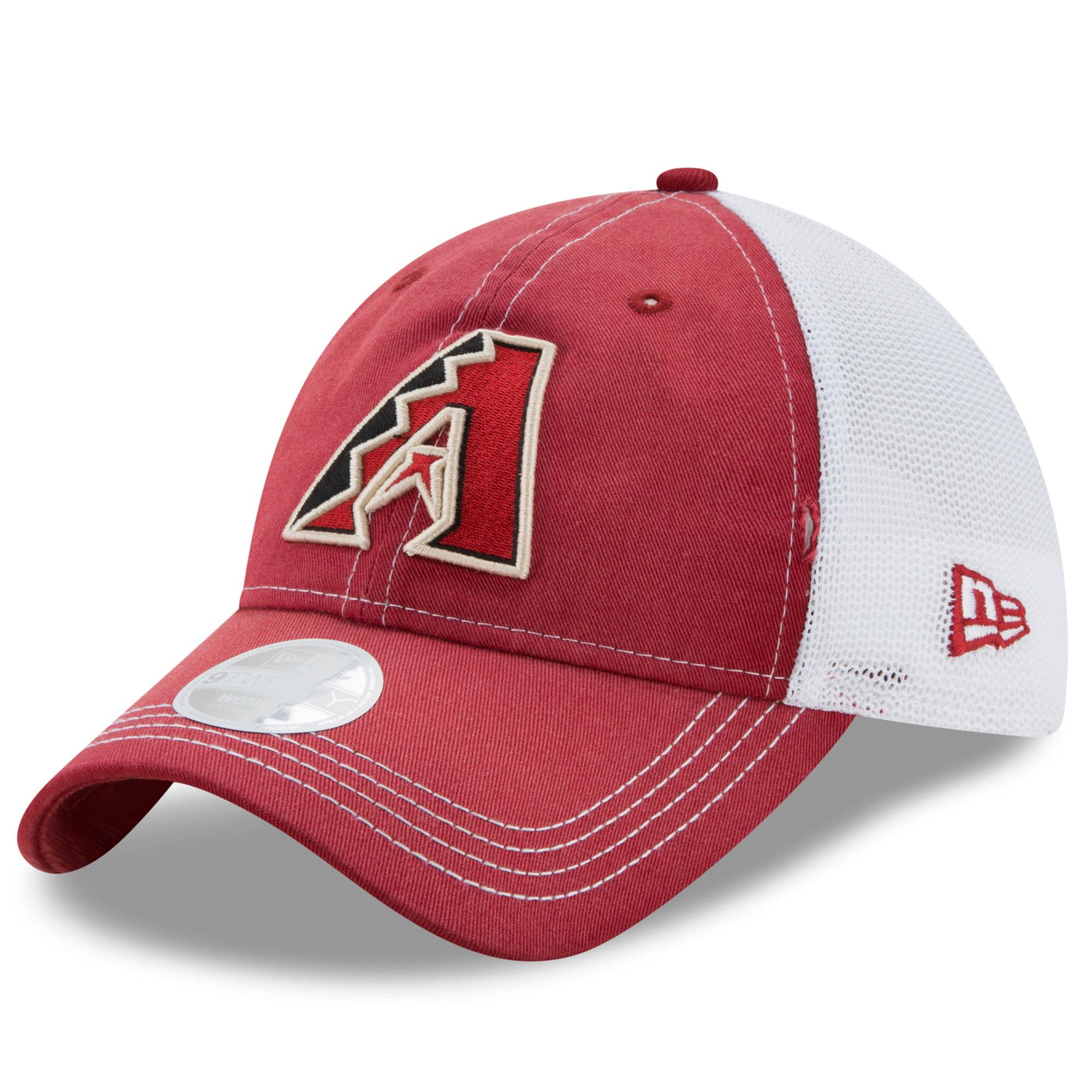 Arizona Diamondbacks New Era Women's Spirited 9TWENTY Adjustable Hat - Red/White - OSFA