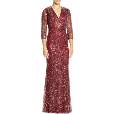 cb7158b34b1 Kay Unger Womens Lace Overlay Lined Evening Dress - Walmart.com