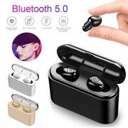 True Wireless Earbuds, Bluetooth 5.0 Noise Canceling Stereo Earphones X8S In-Ear Wireless Headphones with Charging Case