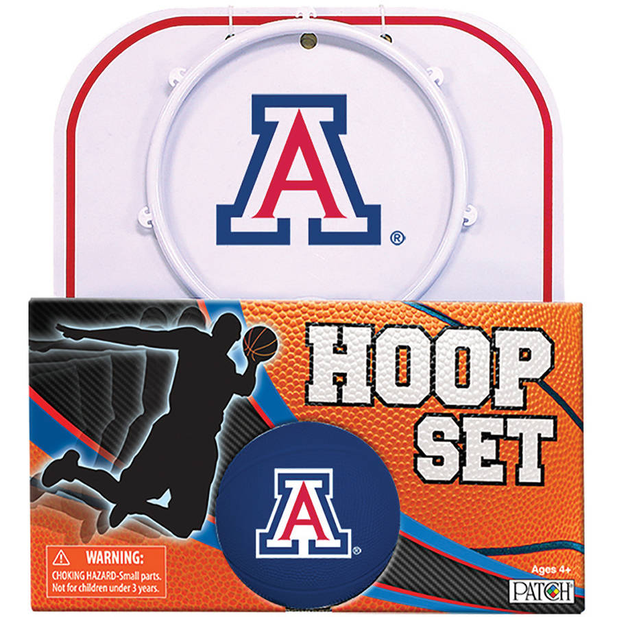 Officially Licensed NCAA Arizona Hoop Set