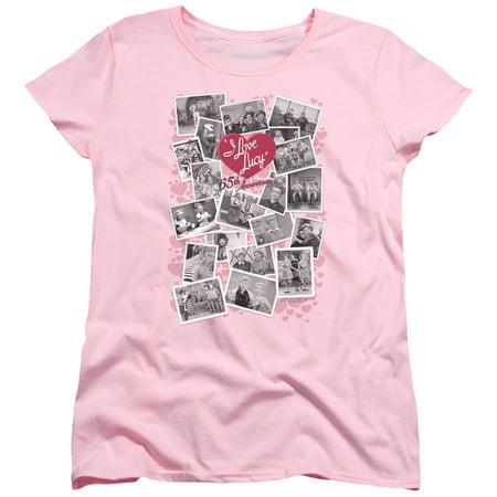 I Love Lucy - 65th Anniversary Women's T-Shirt - Women's T-Shirt / S / - I Love Lucy Wig