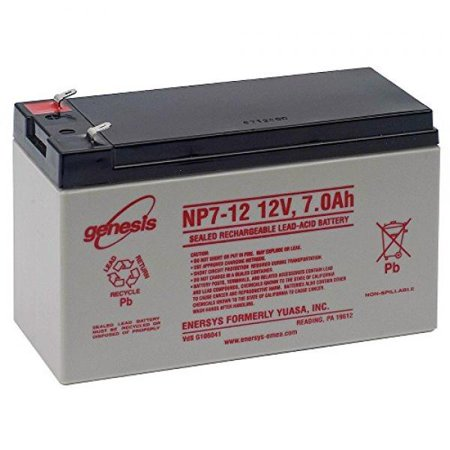 Enersys NP7-12A 12V 7Ah Sealed Lead Acid Battery - This is an AJC Brand