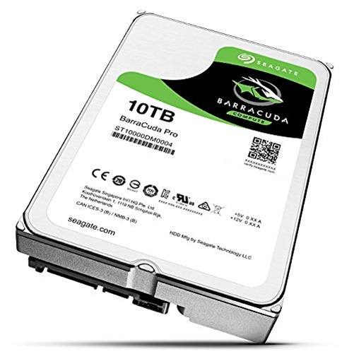 Seagate Barracuda Pro ST10000DM0004 10 TB SATA3 256 MB Buffer 3.5in Internal Hard Drive by Seagate