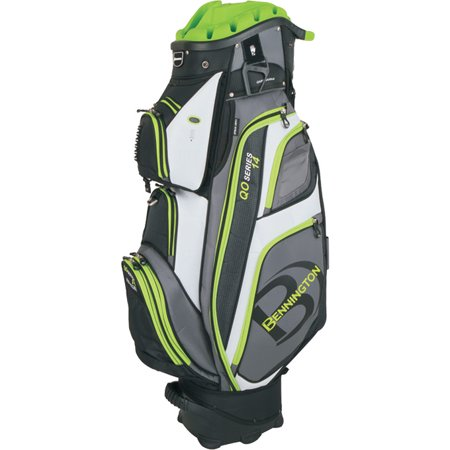 Bennington QO-14 Quiet Organizer Golf Cart Bag - Lime