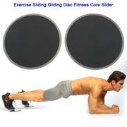 2pcs Exercise Sliding Gliding Disc Fitness Core Slider Sport Full Body Workout, Gliding Fitness, Sliding Disc