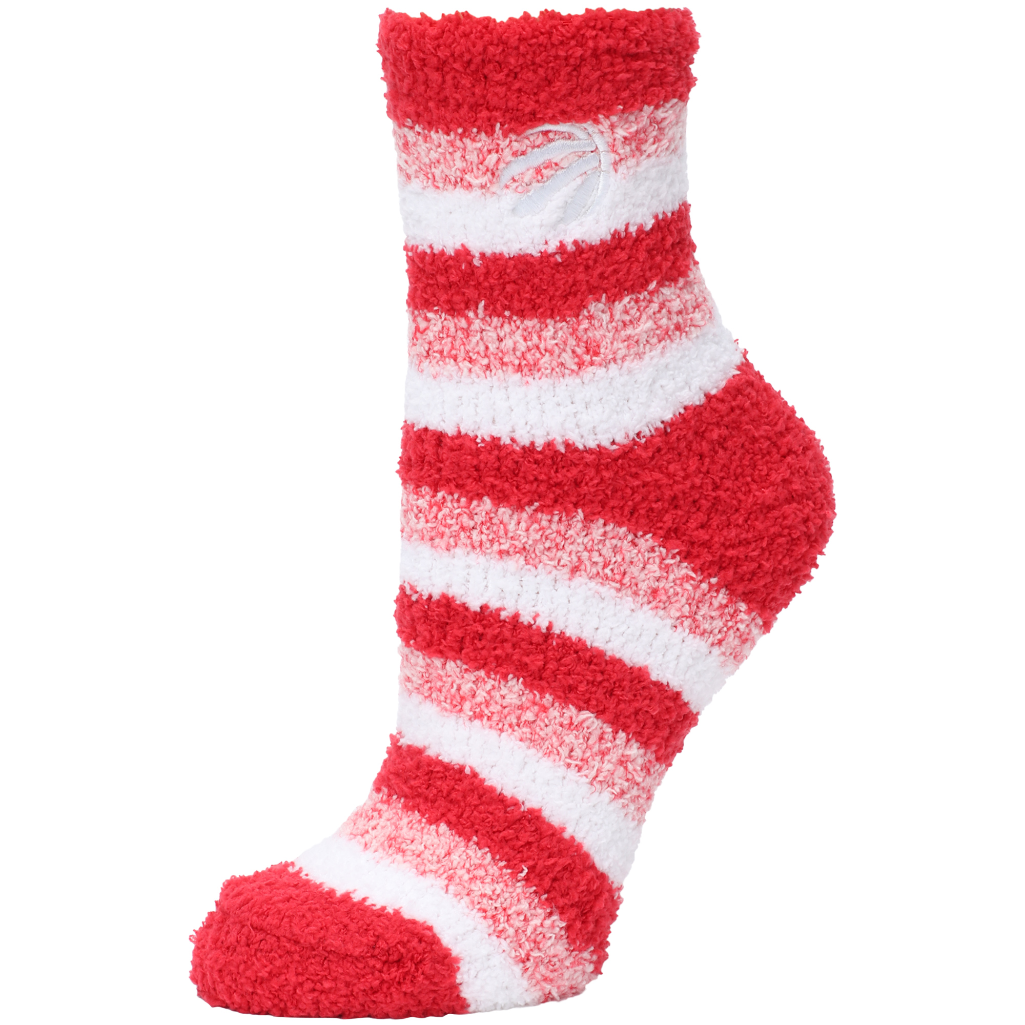 Toronto Raptors Women's Fuzzy Steps Quarter-Length Socks - M