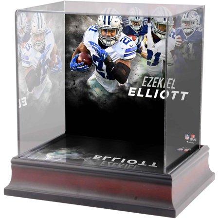 Ezekiel Elliott Dallas Cowboys Deluxe Mini Helmet Case - Dallas Cowboys Inflatable Helmet