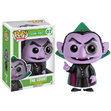 - Funko POP! Sesame Street The Count