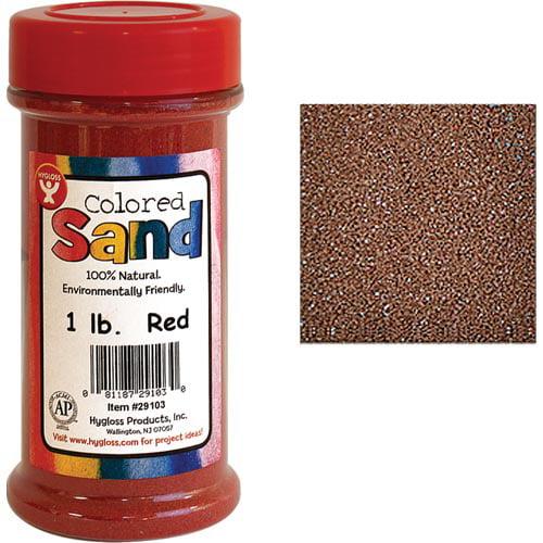 Hygloss Colored Sand (1 lb. jar)