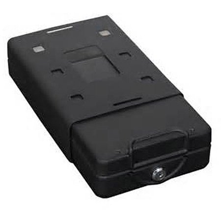 Bulldog Cases Car/Personal Safe w/ Key Lock, Mounting Bracket & Cable Exterior size 8.7