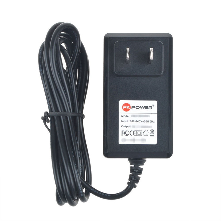 PKPOWER 6.6FT Cable AC / DC Adapter For JENSEN CD-60 CD-60C CD-60B CD-60A CD Player With Bass Boost Anti Skip Protection 60-Second Super A.S.P. Power Supply Cord
