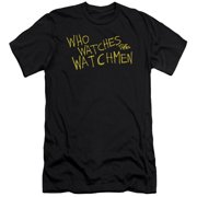 Watchmen Who Watches Mens Slim Fit Shirt
