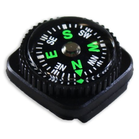21 Compass - 3/4-Inch Hiker's Plastic Compass (ToolUSA: PC-00421)