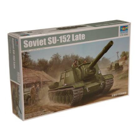 Trumpeter 1/35 Soviet Su152 (Late) Tank Model Kit - image 1 of 1