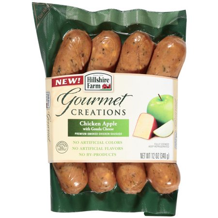 Hillshire Farm Chicken Apple With Gouda Cheese Smoked Sausage, 12 oz ...