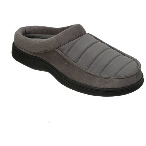 Image of DF by Dearfoams Mens Quilted Clog Slipper