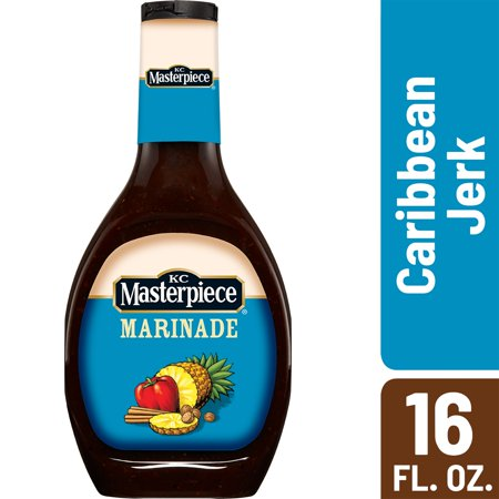 (2 Pack) KC Masterpiece Caribbean Jerk Marinade, 16 (Marinade Kit)