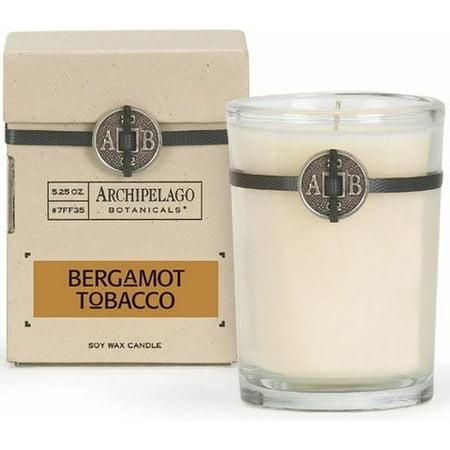 Archipelago Botanicals Soy Candle (Archipelago Bergamot Tobacco Soy Candle)