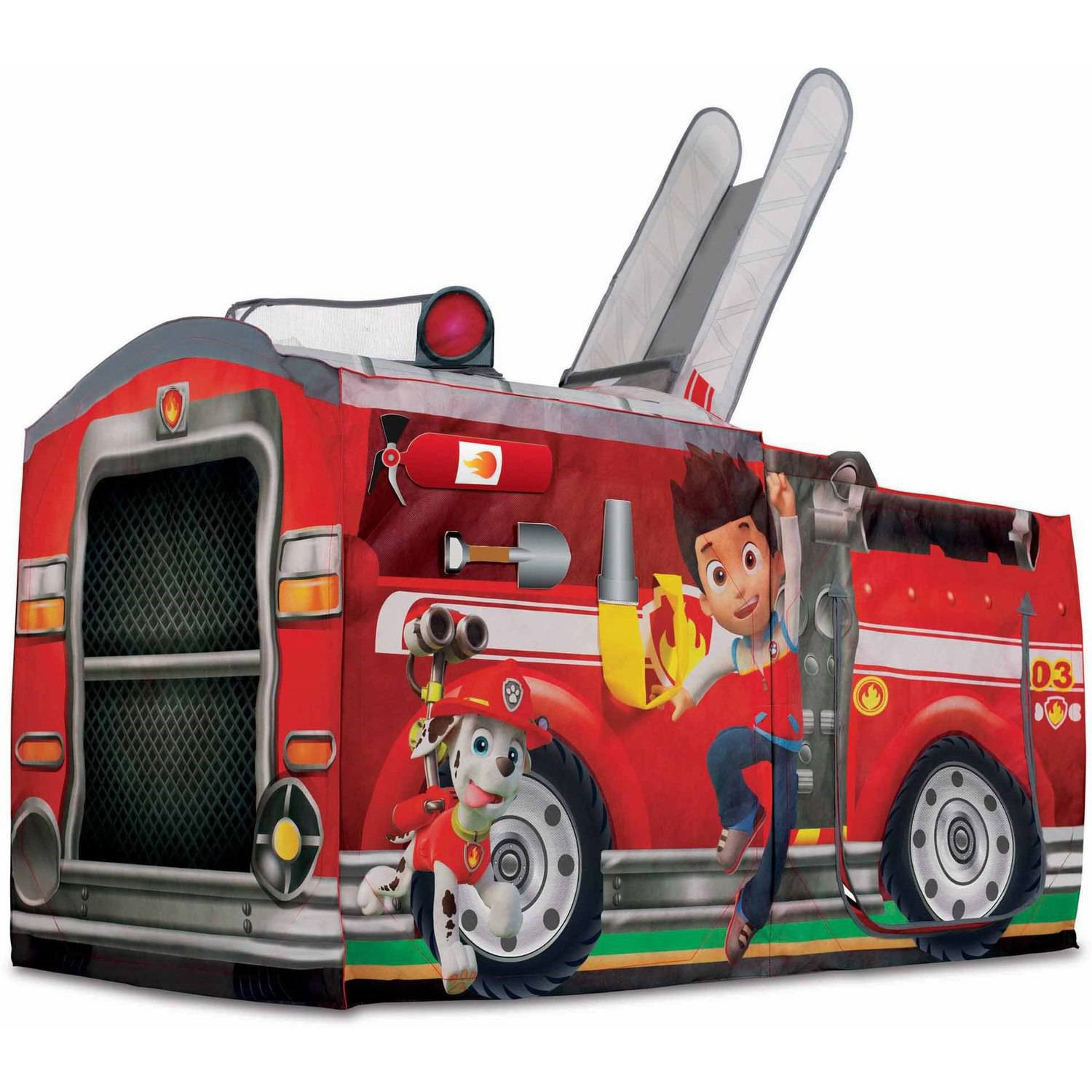 Playhut Nickelodeon Paw Patrol Marshall's Fire Truck Play Tent