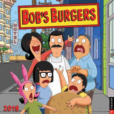 2019 BOB'S BURGERS WALL C ALENDAR