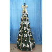 6' PRELIT POP-UP BRONZE/GOLD TREE