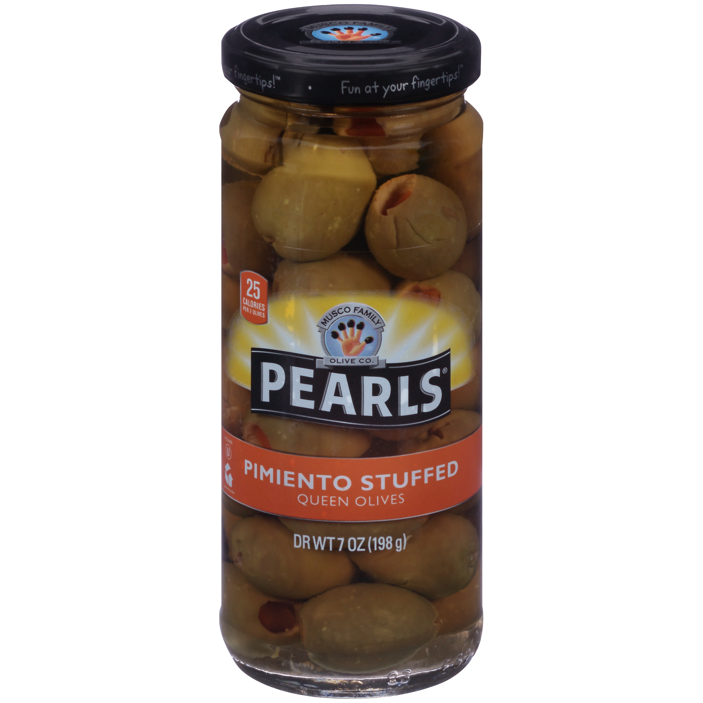 Pearls® Pimiento Stuffed Queen Olives, 7 oz. Jar