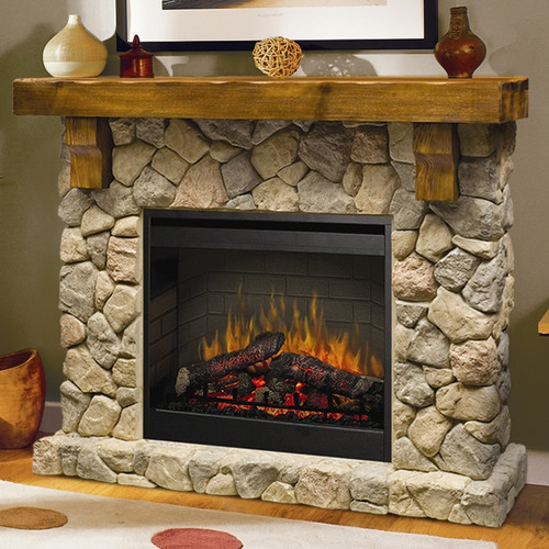 Dimplex Fieldstone Electric Fireplace by Dimplex North America