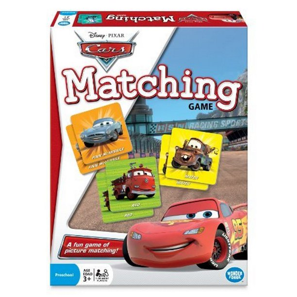 Wonder Forge Disney Pixar Cars Matching Game Age 3 Walmart Com Walmart Com
