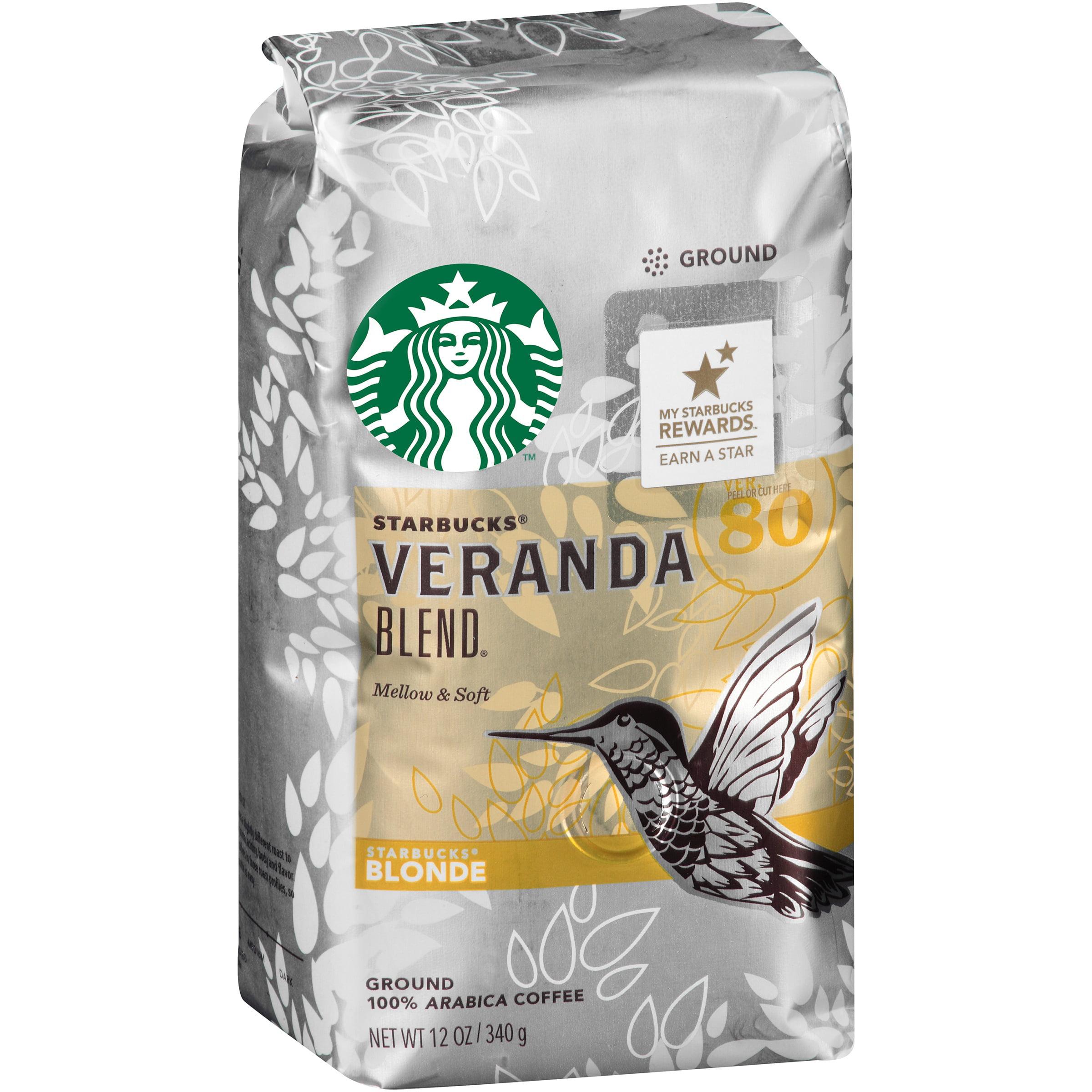 Starbucks Blonde Veranda Blend Ground Coffee, 12 oz