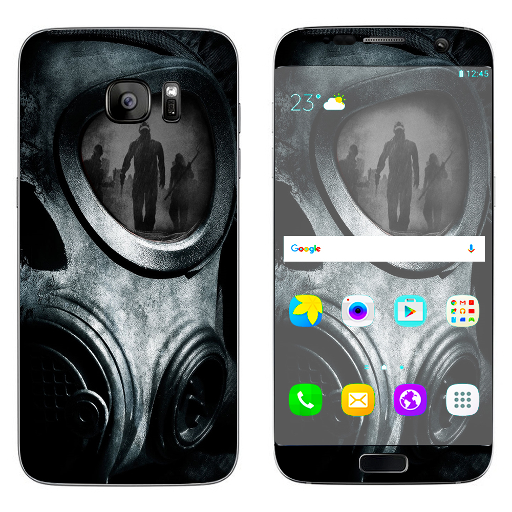 Skins Decals For Samsung Galaxy S7 Edge   Gas Mask War Apocolypse by Itsaskin