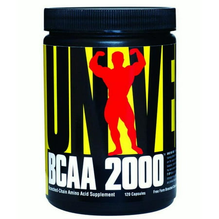 Nutrition BCAA 2000 120 Capsules
