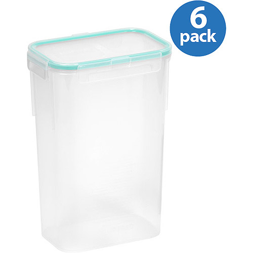 Snapware Airtight 10 Cup Rectangle Food Storage Container 6 Pack